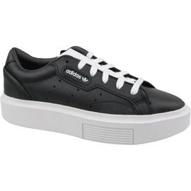 Fekete Adidas Sleek Super W EE4519 cipő