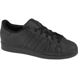 Adidas Superstar J Foundation Jr B25724 cipő fekete