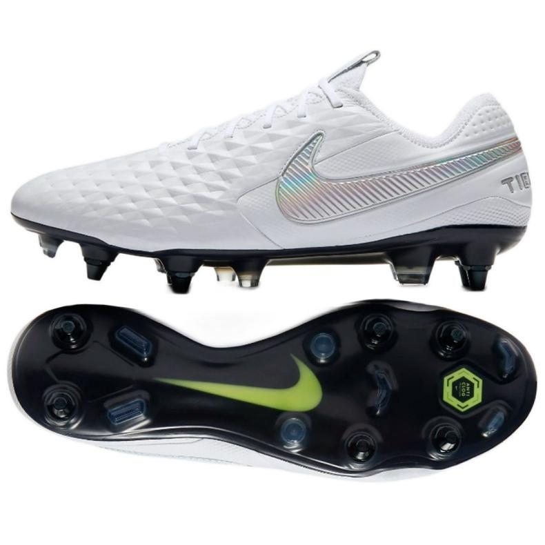 Labdarúgás cipő Nike Tiempo Legend 8 Elite SG-Pro Ac M AT5900-100 fehér fehér
