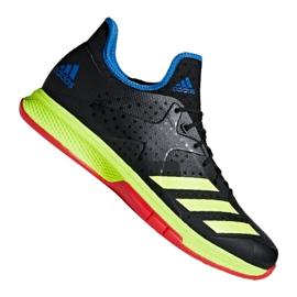 Adidas Counterblast Bounce M BD7408 kézilabda cipő fekete fekete, sárga