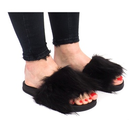 Flip papucs HN51-4 fekete