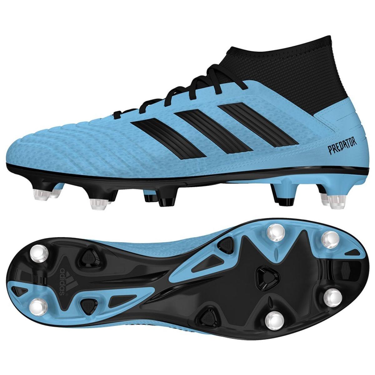 Adidas Predator 19.3 Sg M EF8033 futballcipő kék kék