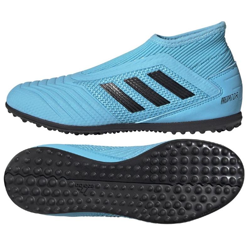 Adidas Predator 19.3 Ll Tf Jr EF9041 futballcipő kék kék