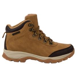 MCKEYLOR gyalogos cipő barna