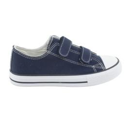 Atletico Navy tépőzáras cipők