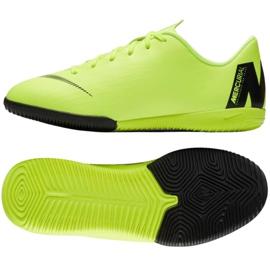 Nike Mercurial VaporX 12 Academy Gs Ic Jr AJ3101 701 zöld cipő