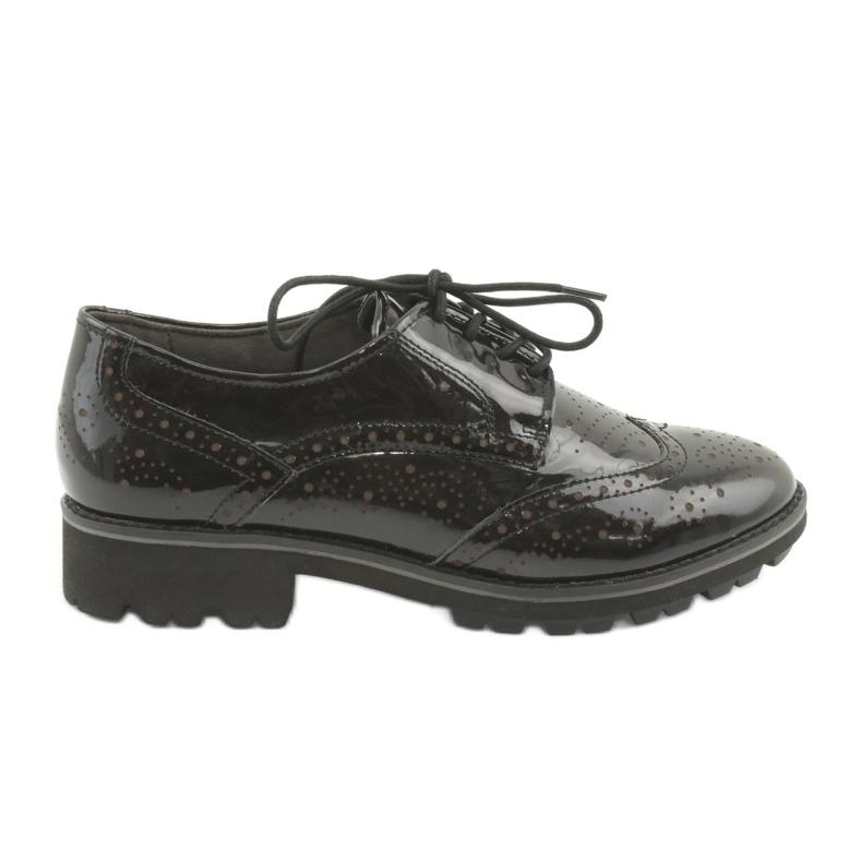 Csipkés cipő Oxford Caprice 23701