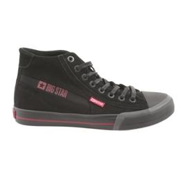 Fekete Big Star 174084 cipők