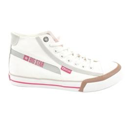 Férfi cipők Big Star 174080 fehér