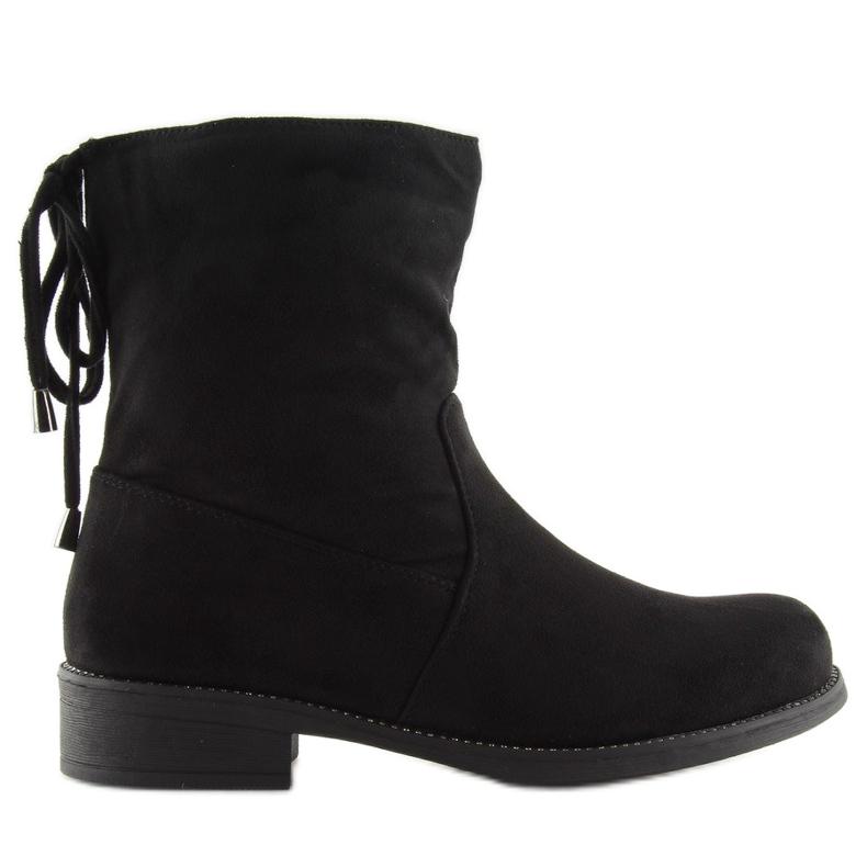 Női cipő fekete 7378-PA Fekete