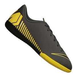 Nike Jr VaporX 12 Academy Gs Ic Jr AJ3101-070 beltéri cipő szürke szürke / ezüst