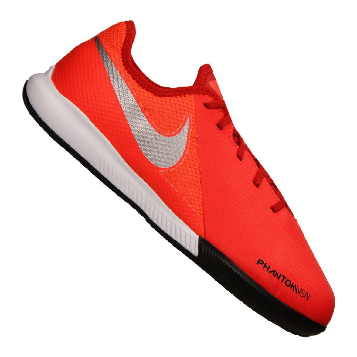Beltéri cipő Nike Phantom Vsn Academy Ic Jr AR4345 600 piros narancs