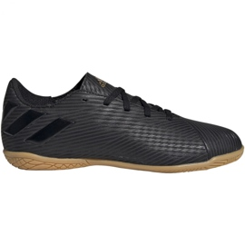 Adidas Nemeziz 19.4. Jr EG3314 futballcipő fekete fekete