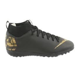 Labdarúgás cipő Nike Mercurial SuperflyX 6 Academy Gs Tf Jr AH7344 077 fekete