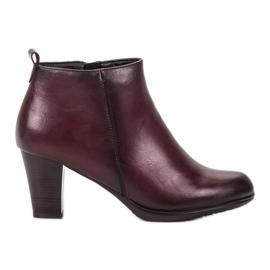 Vinceza Alacsony sarkú cipő piros