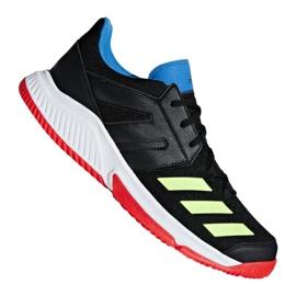 Adidas Essence 406 M BD7406 cipő fekete, többszínű fekete