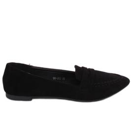 Fekete női cipők 99-262 fekete