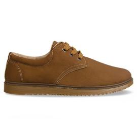 Klasszikus cipő csizma 1307 teve barna