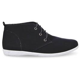 Magas elegáns cipő 3569 Fekete