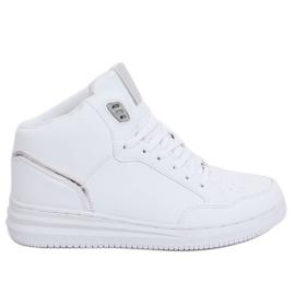 versenyképes ár üzlet eladó minőségi termékek 7762-Y Fehér sportcipő - ButyModne.pl