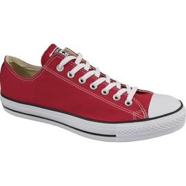 Converse C. Taylor All Star Ox optikai piros M M9696 cipő