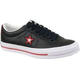 Fekete Converse One Star M 161563C cipő