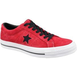 Converse One Star M 163246C piros cipő