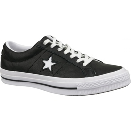 Converse Shoes One Star Ox 163385C fekete