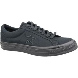 Converse One Star Ox M 163380C cipő fekete