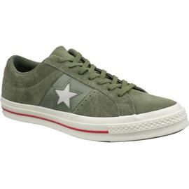 Converse One Star cipő 163198C zöld