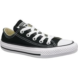 Fekete Converse C. Taylor All Star Youth Ox Jr 3J235C cipő
