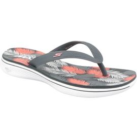 Slippers Skechers H2 Goga W 14680-CCCL sokszínű