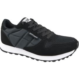 Skechers Zinger Scobie M 52322 BKW cipő fekete ButyModne.pl