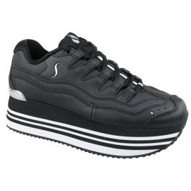Fekete Skechers Highrise nagy energiafelhasználású platform W 73937-BLK cipő