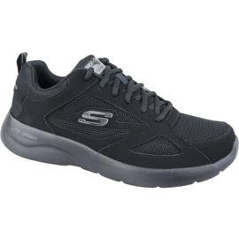 Fekete Skechers Dynamight 2.0 M 58363-BBK cipő