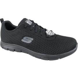 Fekete Skechers Ghenter Bronaugh W 77210-BLK cipő