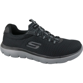 Fekete Skechers Summits M 52811-BKCC cipő