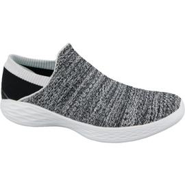 Szürke Skechers You W 14951-WBK cipő