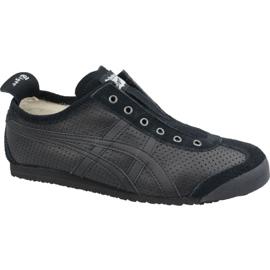 Asics Onitsuka Tiger Mexico 66 Slip-On M D815L-909 cipő fekete