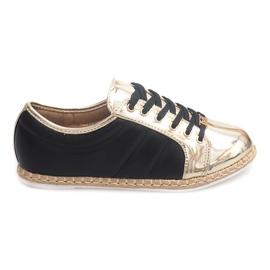Ágynemű cipők Espadrilles Q52 fekete