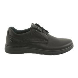 Riko 902 férfi kötött cipő fekete