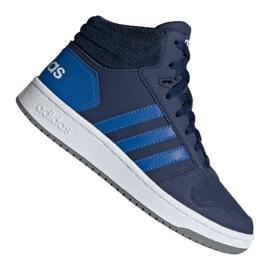 Haditengerészet Adidas Hoops Mid 2.0 Jr EE6707 cipő