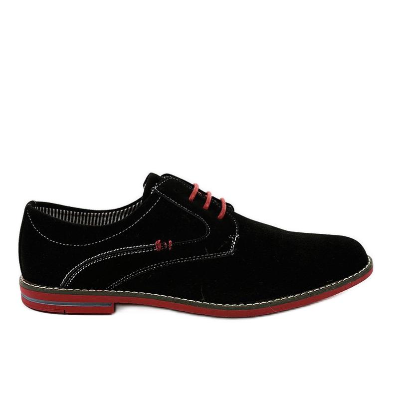 Fekete elegáns cipő 6-688