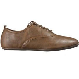 Barna Elegáns jazz cipő TL8312-2 teve