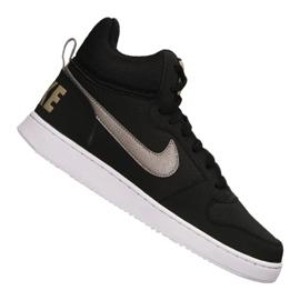 Fekete Nike Court Borough Mid M 838938-005 cipő