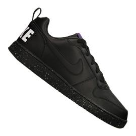 Fekete Nike Court Borough Low Se M 916760-002 cipő