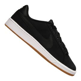 Fekete Nike Court Royale Canvas M AA2156-001 cipő