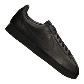 Fekete Nike Classic Leather M 749571-002 cipő