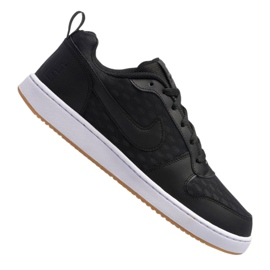 Fekete Nike Court Borough Low Se M 916760-003 cipő
