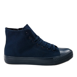 Gemre haditengerészet Sötétkék férfi cipők XN50